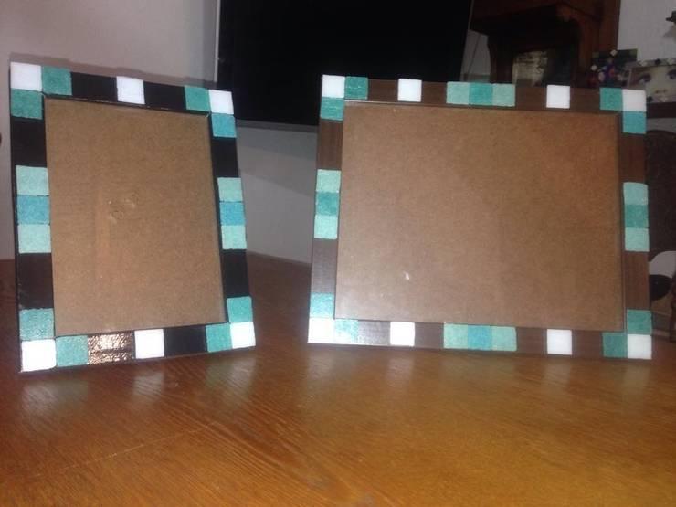 Portaretrato en juego 13x18 y 20x25: Hogar de estilo  por ArteSana