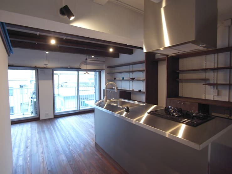 キッチン モダンな キッチン の 一級建築士事務所co-designstudio モダン