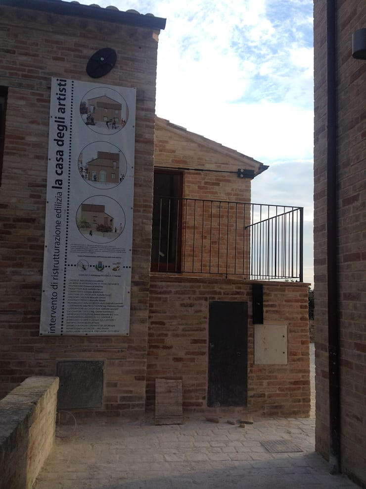 Casas de estilo rural de arch.Officina Rural