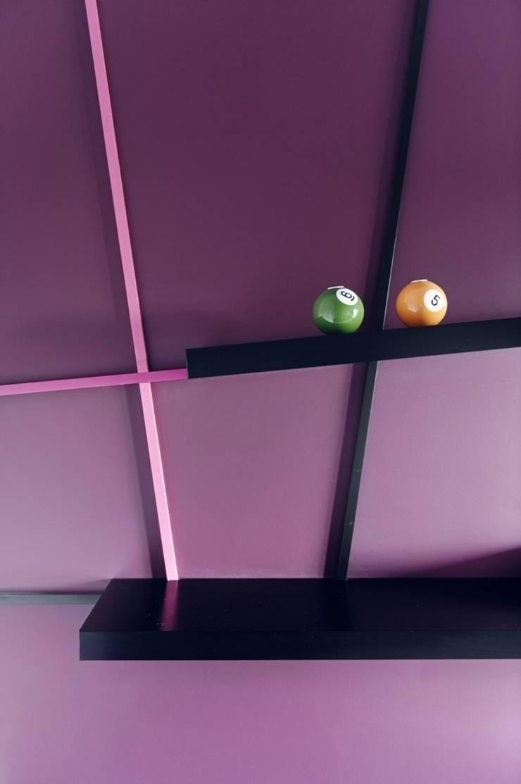 Apartament w Gdańsku 2012: styl , w kategorii Domowe biuro i gabinet zaprojektowany przez formativ. indywidualne projekty wnętrz,