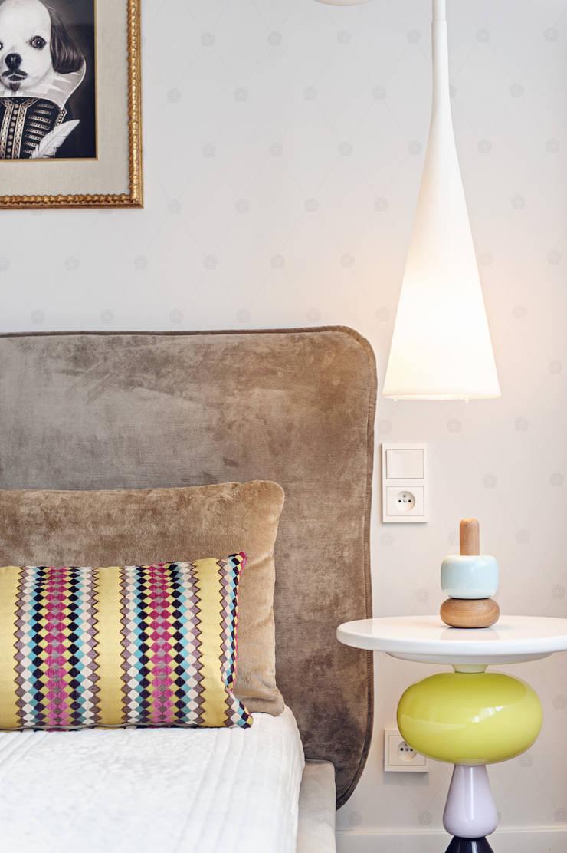 Apartament w Gdyni 2012: styl , w kategorii Sypialnia zaprojektowany przez formativ. indywidualne projekty wnętrz,