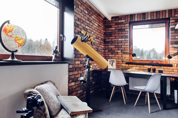 Apartament w Gdyni 2012: styl , w kategorii Domowe biuro i gabinet zaprojektowany przez formativ. indywidualne projekty wnętrz