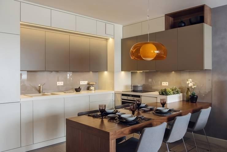 Mieszkanie w Gdyni 2013: styl , w kategorii Kuchnia zaprojektowany przez formativ. indywidualne projekty wnętrz