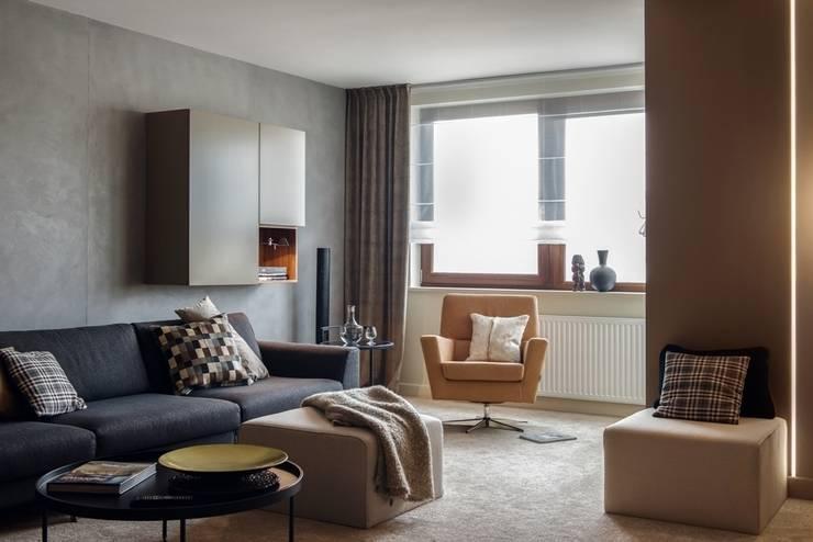 Mieszkanie w Gdyni 2013: styl , w kategorii Salon zaprojektowany przez formativ. indywidualne projekty wnętrz
