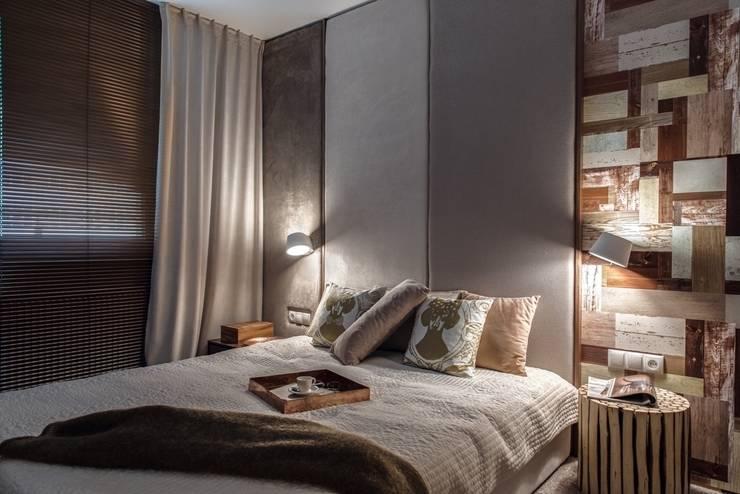Mieszkanie w Gdyni 2013: styl , w kategorii Sypialnia zaprojektowany przez formativ. indywidualne projekty wnętrz