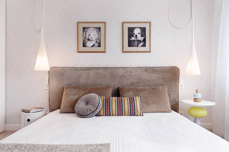 Apartament w Gdyni 2012: styl , w kategorii Sypialnia zaprojektowany przez formativ. indywidualne projekty wnętrz