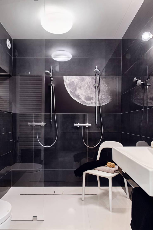Apartament w Gdyni 2012: styl , w kategorii Łazienka zaprojektowany przez formativ. indywidualne projekty wnętrz,