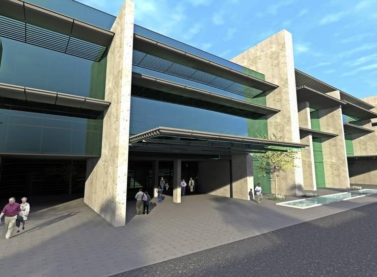ERBUĞ MİMARLIK – Muğla Üniversitesi Araştırma ve Uygulama Hastanesi ve Morfoloji Binası:  tarz Hastaneler