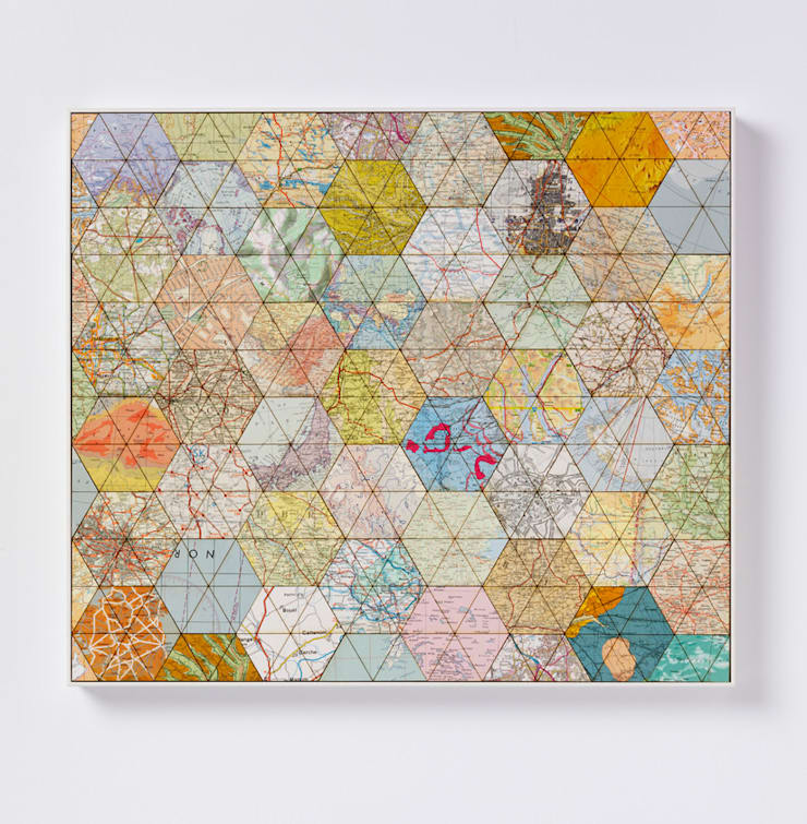 Patchwork world one:  Artwork by Bombus