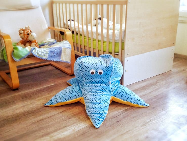 """Sitzsack Oktopus """"Paulchen"""":  Kinderzimmer von pillow beag"""