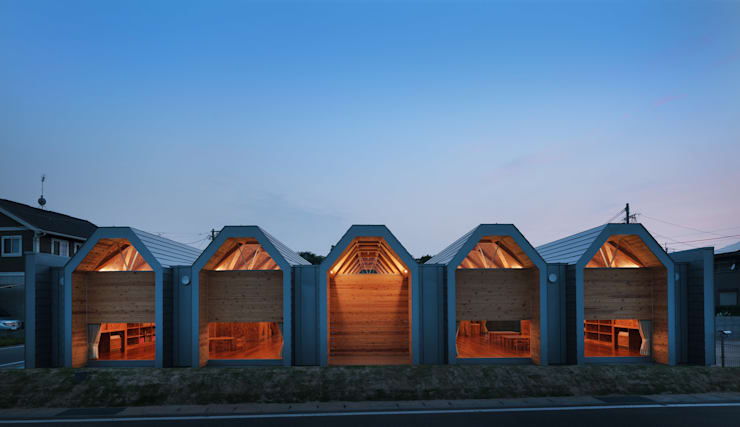 T-NURSERY: 内田貴久建築設計事務所が手掛けた子供部屋です。