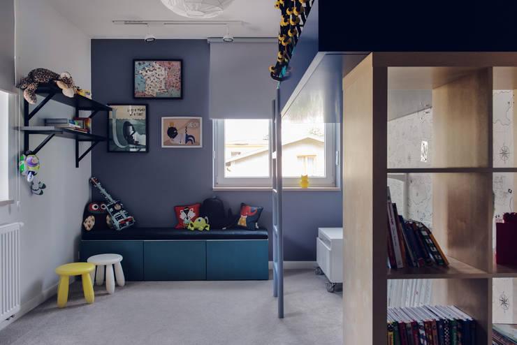 Dom prywatny 2013: styl , w kategorii Pokój dziecięcy zaprojektowany przez formativ. indywidualne projekty wnętrz