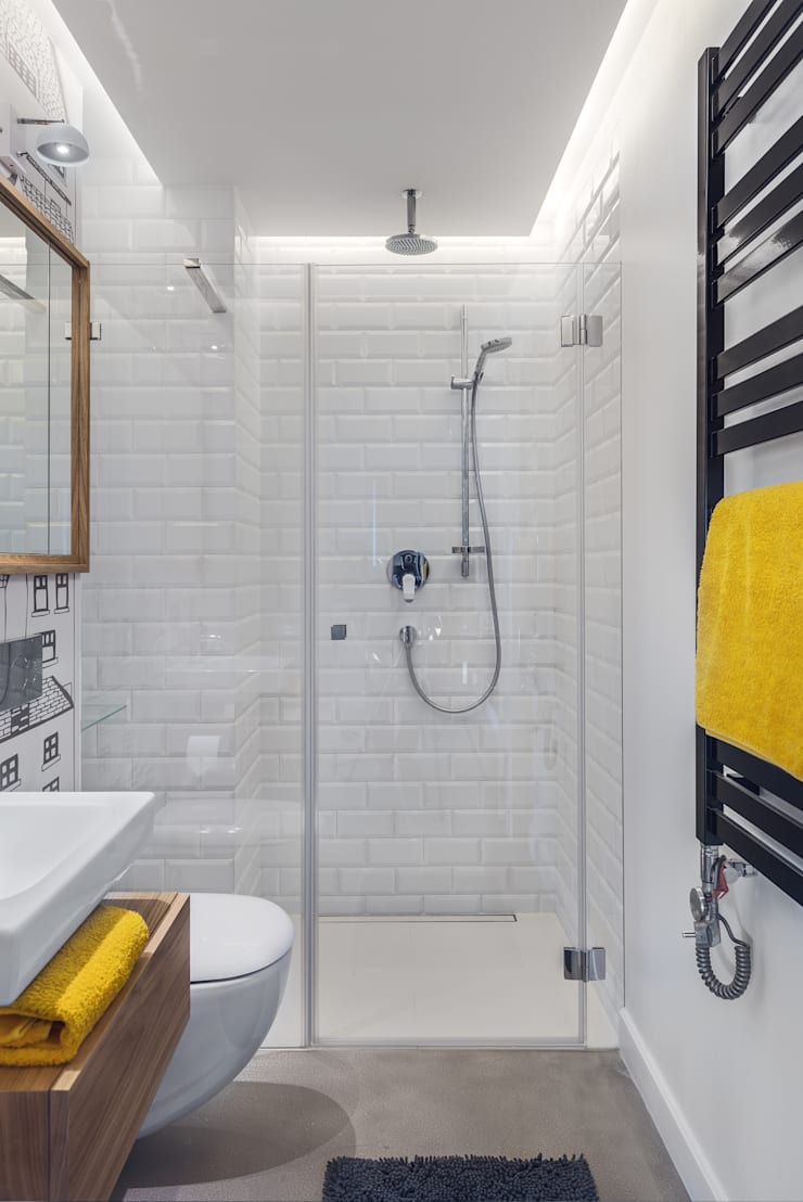 Dom w Gdyni 2015: styl , w kategorii Łazienka zaprojektowany przez formativ. indywidualne projekty wnętrz,