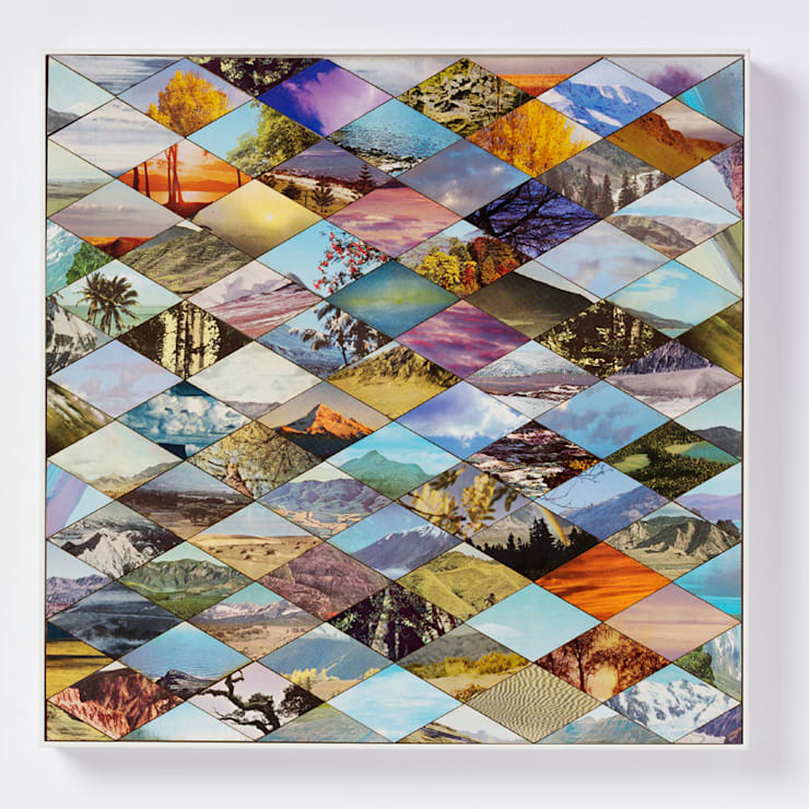 Landscape one:  Artwork by Bombus