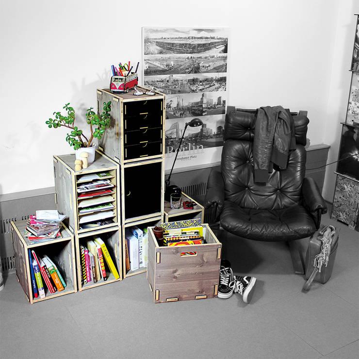 Woonkamer door Werkhaus Design + Produktion GmbH