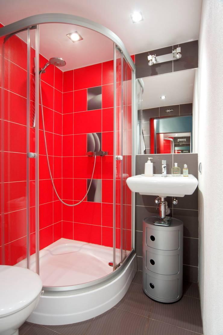 łazienka: styl , w kategorii Łazienka zaprojektowany przez Studio Projektowe RoRO interior + design,