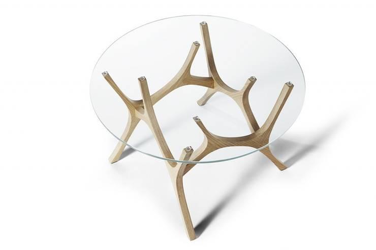 ŁOŚ: styl , w kategorii Salon zaprojektowany przez TABANDA gdańsk