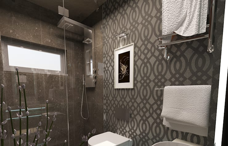 Modern bathroom by İdea Mimarlık Modern