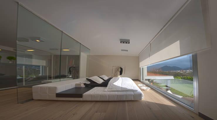 As Tasarım - Mimarlık – SAHİLEVLERİ PROJE: modern tarz Yatak Odası