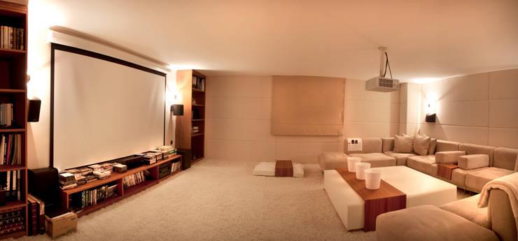 Multimedia room by As Tasarım - Mimarlık