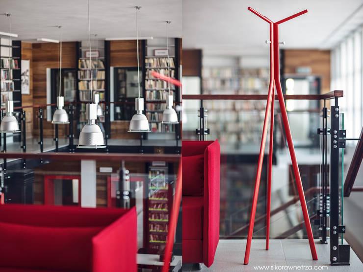 Stacja kultura  dworzec w Rumi: styl , w kategorii Pomieszczenia biurowe i magazynowe zaprojektowany przez Sikora Wnetrza