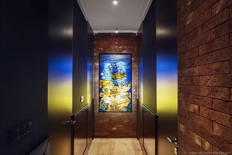 APARTAMENT W SOPOCIE: styl , w kategorii Korytarz, hol i schody zaprojektowany przez Sikora Wnetrza