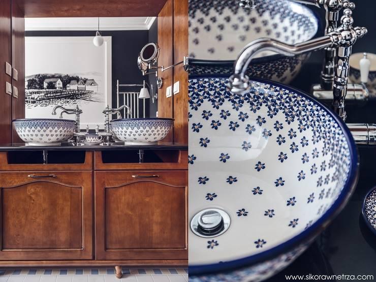 APARTAMENT W SOPOCIE: styl , w kategorii Łazienka zaprojektowany przez Sikora Wnetrza