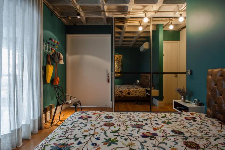 Projekty,  Sypialnia zaprojektowane przez PM Arquitetura