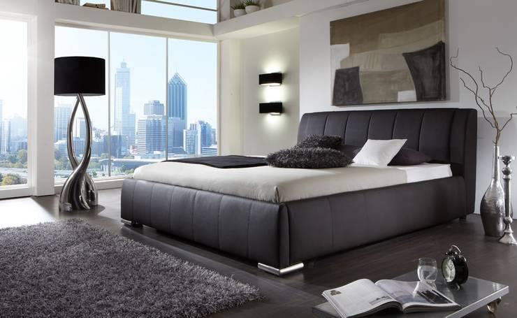 Łóżko ELINA z opcją pojemnika na pościel: styl , w kategorii Sypialnia zaprojektowany przez mebel4u,Nowoczesny