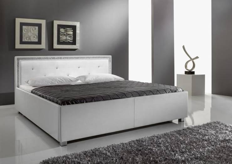 Łóżko MERIDA: styl , w kategorii  zaprojektowany przez mebel4u,Eklektyczny