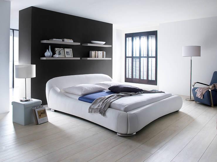 Łóżko PASKAL: styl , w kategorii Sypialnia zaprojektowany przez mebel4u,Nowoczesny
