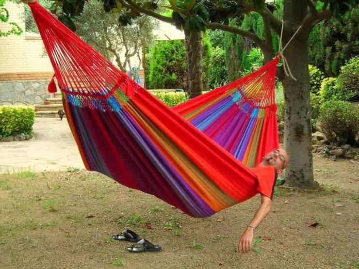 Hamaca Rainbow XL: Jardín de estilo  de Mundo de Hamacas, el Auténtico