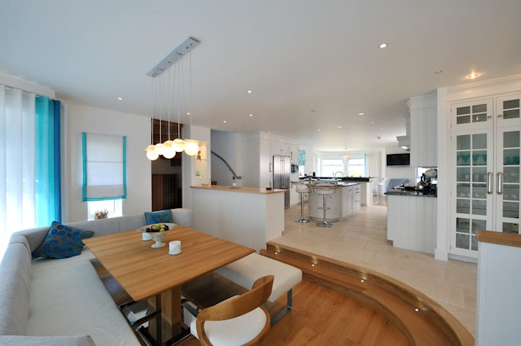 modern Dining room by The Bazeley Partnership
