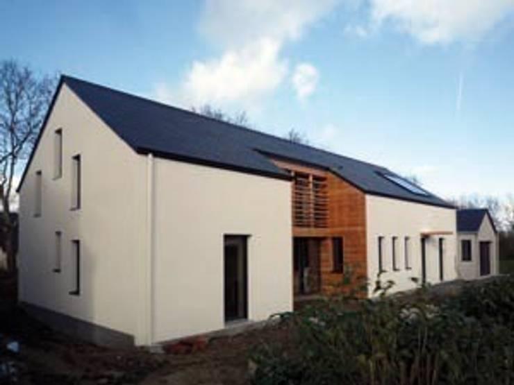 projet maison ossature bois: Maisons de style  par yg-architecte