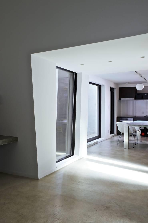 『 にしはらのながや 』: O.A.D  岡由雨子建築設計ディザインが手掛けたダイニングです。