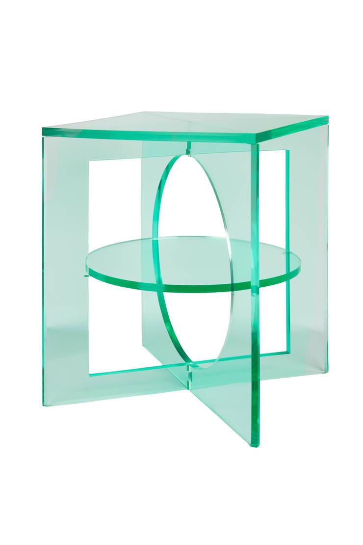 Cubist Acrylaat, Glass Look:  Woonkamer door contravorm,