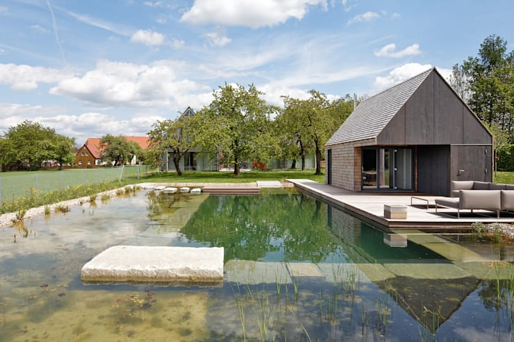 Terrace by Markus Gentner Architekten