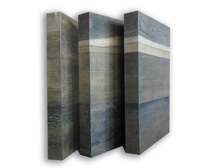 """""""Tryptyk w szarościach"""": styl , w kategorii Sztuka zaprojektowany przez Galeria AtmoSfera"""