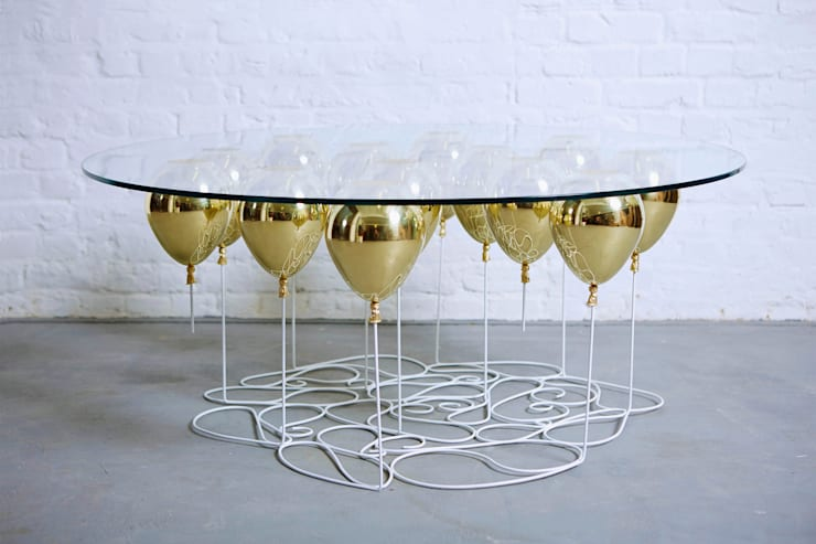 UP Balloon Coffee Table, Round Edition 2015:  Living room by Duffy London