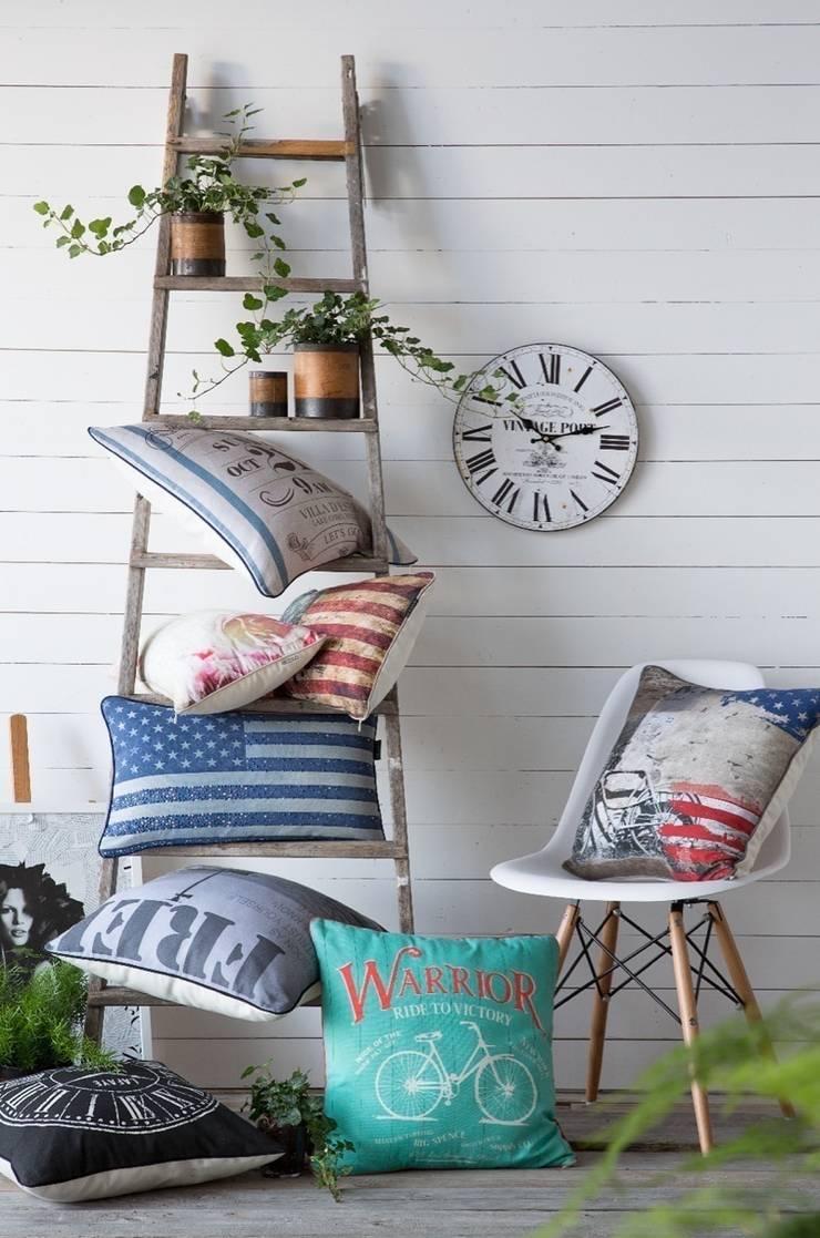 Cojines decorativos: Hogar de estilo  de Dontextil.com