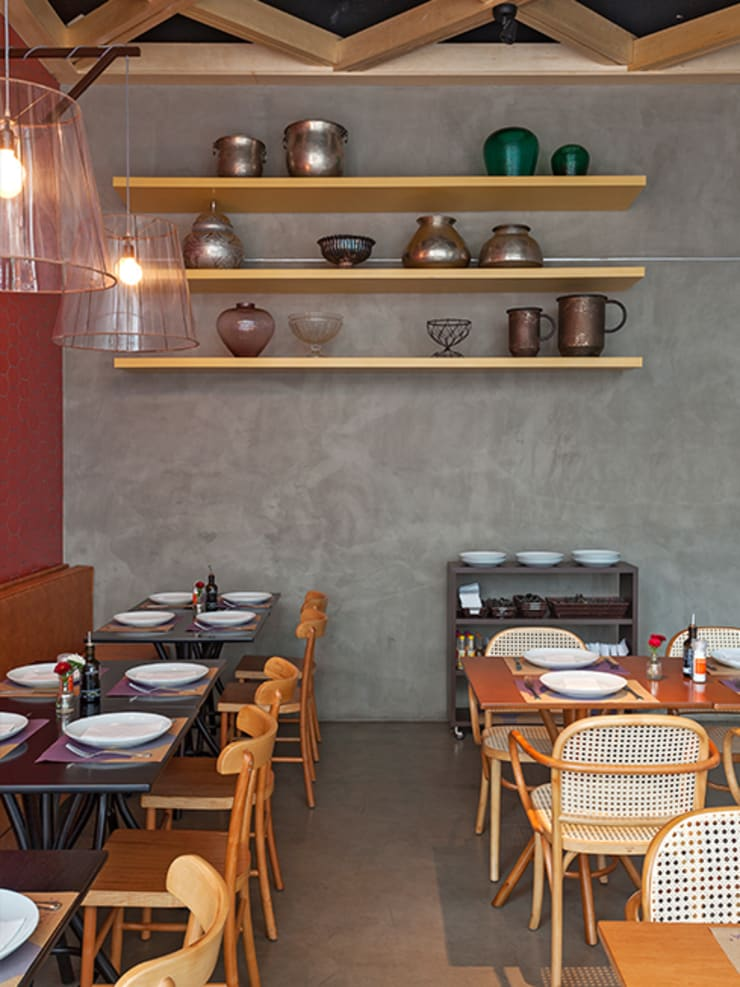RANDA ESPECIALIDADES ÁRABES: Espaços gastronômicos  por Isabela Bethônico Arquitetura