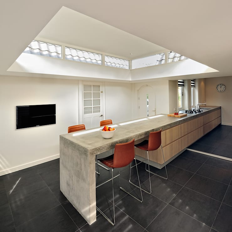 Keuken verbouwing:  Keuken door Bob Ronday Architectuur, Modern