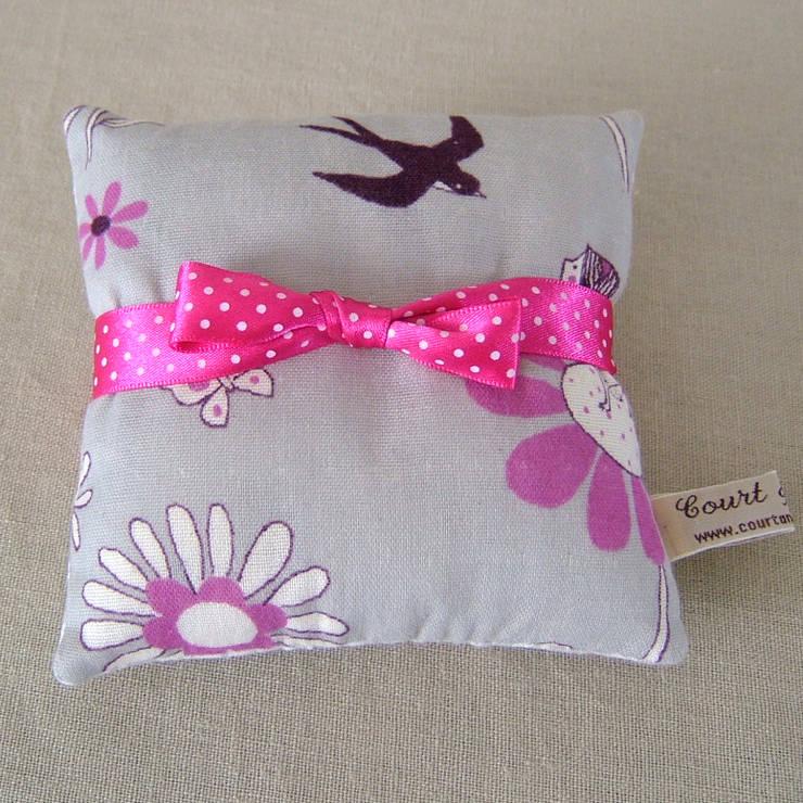 Thumbelina Print Mini Lavender Pillow:  Household by Court & Spark