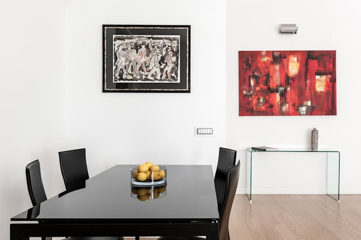 Comedores de estilo  por zero6studio - Studio Associato di Architettura