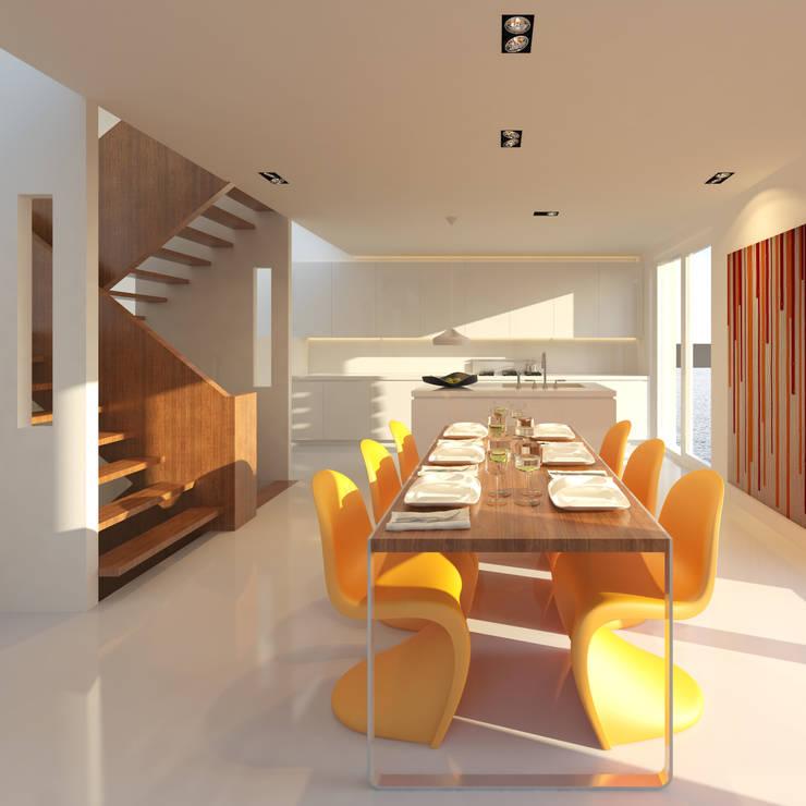 Loods:  Keuken door M&M Watervilla, Modern