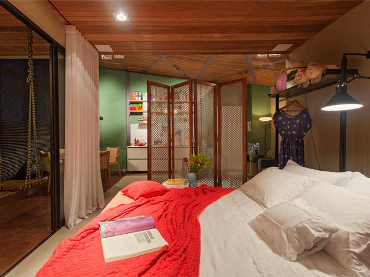 Isabela Bethônico Arquitetura:  tarz Yatak Odası
