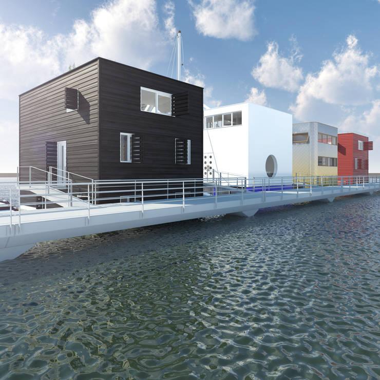 Loods:  Huizen door M&M Watervilla, Modern