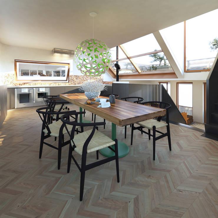 Vis:  Keuken door M&M Watervilla