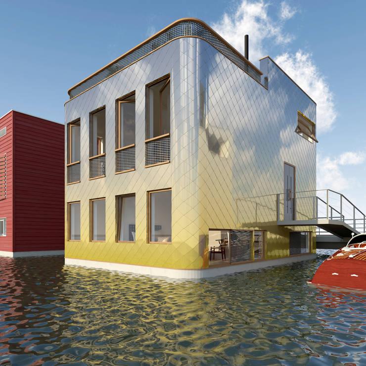 Vis:  Huizen door M&M Watervilla