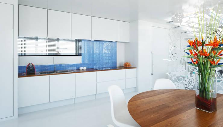 Pied a L' eau Moderne keukens van M&M Watervilla Modern